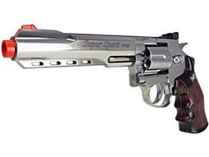 400 FPS WG Full Metal M702 MAGNUM High-Powered CO2 Semi-Automatic Revolver Airsoft Pistol - Silver by WG. $119.99. The all-new WG FULL METAL full size M702 MAGNUM Extended-Length semi-automatic CO2 revolver is by one of the very best CO2 revolvers ever created and consequently, one of the BEST CO2 airsoft pistols we've ever shot.  It's a full size, full metal heavyweight replica, and boasts the HIGHEST FPS of any airsoft revolver currently being produced.   Toppi...