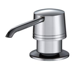 kitchen sink soap dispenser the shape Stainless Steel clean after brushing