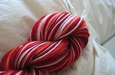 Techniques: Self-striping Yarn.  Kool-Aid dyeing instructions and how to calculate the stripe sequence.