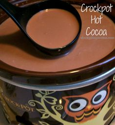 Crockpot Hot Cocoa - 5 Ingredients!  http://www.stockpilingmoms.com/2013/01/crockpot-hot-cocoa/