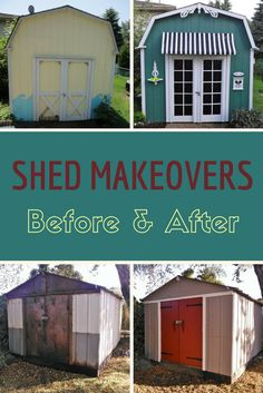 Backyard sheds present amazing design opportunities. If your shed is lacking in style, take heart. These stunning shed makeovers will inspire you to create a space that is as beautiful as it is functional. These 5 shed makeovers blew us away.