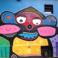 Grafites das ruas de Sampa