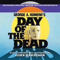 film music | movie music| film score | Day Of The Dead - John Harrison - Limited Edition