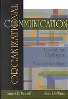 Organizational communication co-authored by Sue DeWine (Hanover College President).