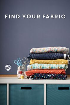 Get your favorite fabrics by the yard! Browse beautiful collections from trusted brands like Robert Kauffman and Cotton + Steel, and find fabrics that fit you and your unique projects.