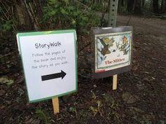 StrongStart: The Mitten as a StoryWalk