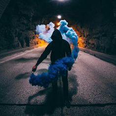 Flares A marriage is just a ceremony where several individuals are united in marriage. Smoke Bomb Photography, Portrait Photography, Smoke Pictures, Cool Pictures, Rauch Fotografie, Smoke Art, Colored Smoke, Street Art, Images