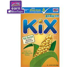 Kix Crispy Corn Puffs Cereal, 12 oz