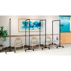 Norwood Commercial Furniture H Healthy Safeguard Clear Room Divider Panel Divider, Divider Walls, Desk Dividers, Sneeze Guard, Traditional Fabric, Commercial Furniture, Coworking Space, Common Area, Glass Panels