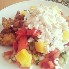 @i_can_do_thisx - I ate yesterday's taco chicken and salad w/ cottage cheese and cashews for late lunch or dinner :) #health #fitness #fit #befitstayfitlivewell #weightloss #journey #fitnessaddict #fitspo #workout #bodybuilding #cardio #gym #train #training #photooftheday #health #healthy #instahealth #healthychoices #active #strong #motivation #instagood #determination #lifestyle #diet #getfit #cleaneating #eatclean #excercise