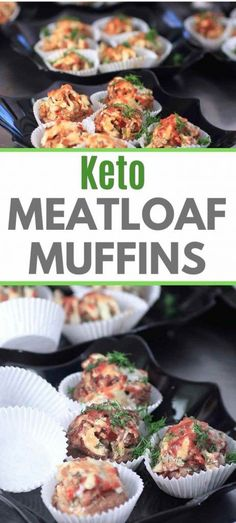 Try these easy Keto Meatloaf Muffins for the perfect weeknight keto dinner. They freeze well making this keto recipe perfect for your keto meal prep needs. They are super yummy and very customizable for a unique taste each time. Try them as a keto appetizer or keto t-go meal at a keto picnic or keto potluck #ketorecipe #ketodiet #ketodinner #ketomeatloaf #ketogenic #ketogenicdiet #ketolife Banting Recipes, Low Carb Recipes, Healthy Recipes, Low Carbohydrate Diet, Low Carb Diet, Keto Meal Plan, Meal Prep, Classic Meatloaf Recipe, Meatloaf Muffins