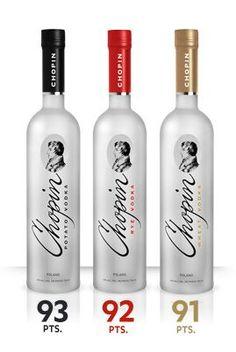 Chopin Vodka - Hand Made Polish Vodka - Chopin Rye and Potato ...