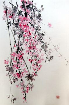 Hey, I found this really awesome Etsy listing at https://www.etsy.com/listing/204092064/japanese-ink-painting-suibokugasumi-e