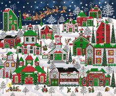 Santa's On His Way by Medana Gabbard