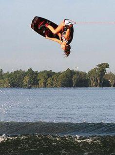 wakeboarding:)