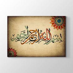 Bismillah - Besmele - Bismillahirrahmanirrahim  Yazılı Tablo
