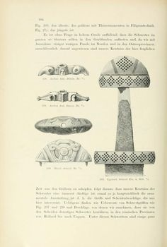 Die altgermanische Thierornamentik : typologisc... Sword Hilt, Viking Shirt, Germanic Tribes, Central And Eastern Europe, Old Norse, Ancient Vikings, Nordic Art, Sticks And Stones, Viking Age