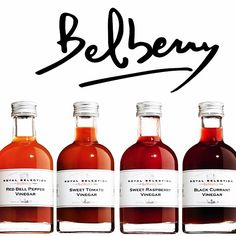 Belberry Vinegars available in Greece now!  @belberry