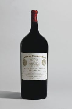 The 1947 Cheval Blanc sold for $304,375 at Christie's. Probably not tasting it any time soon...