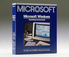 Τα Windows 1.0 -- The fully-packaged Windows 1.0 software, 1985.