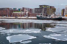 Helsinki Harbour Ice, Finland