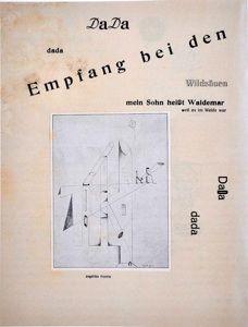 "from ""Die Schammade"" a work called ""Roehren"" by Angelika Hoerle."