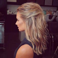 Anna Heinrich, Long Loose Curls, Wedding Hairstyles For Long Hair, Fishtail, Braids, Hair Color, Hair Beauty, Dreadlocks, Long Hair Styles