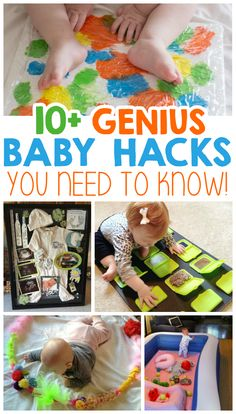 10+ Genius Baby Hacks You Need To Know!