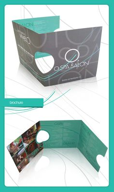 O.SPA - Brochure by YoSoyNato , via Behance