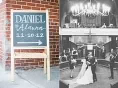 Modern Atlanta Wedding
