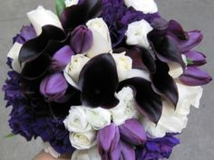 Purple wedding flowers ideas | Wedding Blog Ideas and Tips