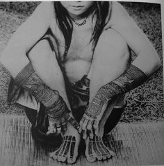 Dayak girl, Borneo
