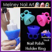Nail Polish Holder Ring