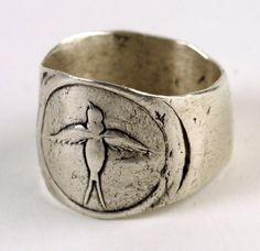 Bird Stamp RIng