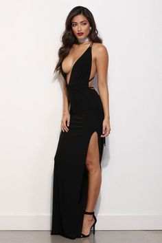 Katarina Black Bombshell Beauty Dress   WindsorCloud