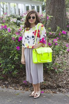 #spring, #summer, #fashion, #pastels, #summerfashion, #springfashion, #neon, #ootd, #florals, #raybans, #midiskirt, #style, #fashionbloggers, #blogger, #flowers, #chic, #neutrals, #bright, #bold, #classy, #streetstyle, #metallic, #flats, #satchel, #purse, #loafers, #forever21, #hairstyles