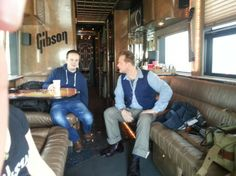 Thomann on Tour - Trip to Gibson USA: On the way to Memphis with the Gibson Bus #thomann #OnTour #gibson