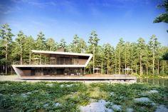 AX2 Studio Z House. by Guilherme Pinheiro Architect - 3D artist