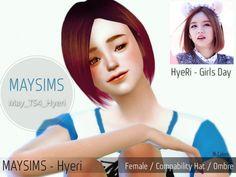 Hyeri hair (Pay) at May Sims • Sims 4 Updates