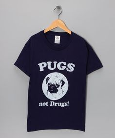 Creating a clever conversation piece, this all-cotton tee is something to wag about. It's also machine washable to keep the good, clean fun going through laundry days and beyond.