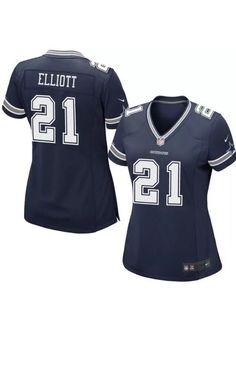 26a73dd57 Nike Womens Ezekiel Elliott Dallas Cowboys Game Football Jersey Sz2XL NEW  477494