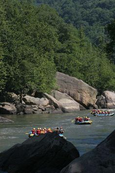 Rafting on the New River in West Virginia  http://www.wvyourway.com/west_virginia/tourism.aspx