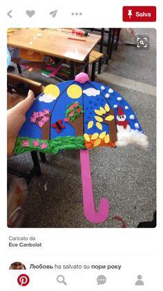 seasons preschool activities and crafts « Preschool and Homeschool Kids Crafts, Summer Crafts, Toddler Crafts, Projects For Kids, Arts And Crafts, Paper Crafts, Art Projects, Kindergarten Art, Preschool Crafts