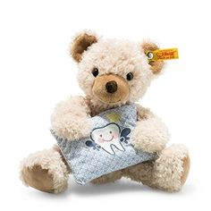 Steiff-113383-Beige-Leo-Tooth-Fairy-Teddy-Bear