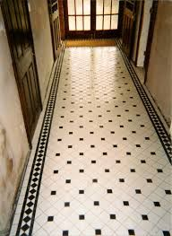 black white tiles victorian - Google Search
