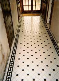 black white tiles victorian - Google Search
