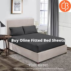Take single, double, king & queen size fitted bed sheets from India's best comfort Beddings online store. Select from different patterns, designs & colors at affordable rates. Shop 100% pure Egyptian cotton fitted sheets that fit your bed perfectly. King Size Bed Sheets, Double Bed Sheets, Fitted Bed Sheets, Yellow Bedding, Black Bedding, Most Comfortable Sheets, Ruffle Duvet, Bed Sheets Online, Water Bed