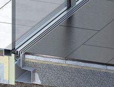Schlitzrinne Typ ino 662 SR - Detail Architecture, Interior Architecture, Floor Drains, Construction, Cladding, Glass Door, Exterior Design, Facade, Patio