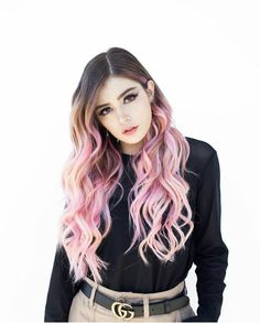 Since when did rapunzel have pink hair? Got my dream hair yesterday at 😭 Thank you for the… Beautiful Girl Photo, The Most Beautiful Girl, Crissy Costanza, Holly Willoughby Style, Long Pink Hair, Hollywood Divas, Anime Wigs, Dream Hair, My Dream