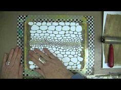 Patti Parrish, iStencils & A Gelli Plate - YouTube